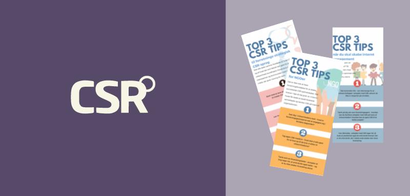 12 gode CSR-råd fra 4 praktikere