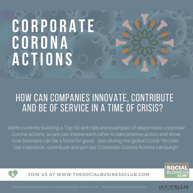 corporate corona actions